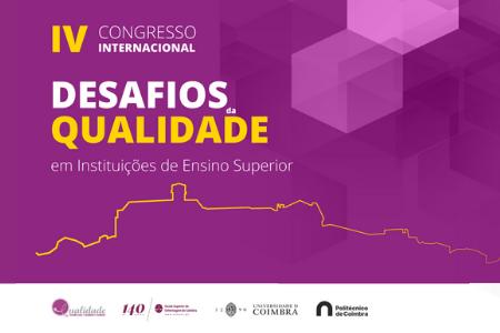 """IV Congresso Internacional """"Desafios da Qualidade em Instituições de Ensino Superior"""""""